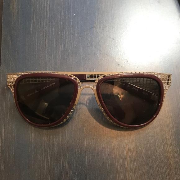 e2b437e1e91f Louis Vuitton Accessories - Authentic Louis Vuitton Sunglasses